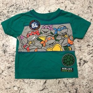 Nickelodeon Teenage Mutant Ninja Turtles TMNT Tee